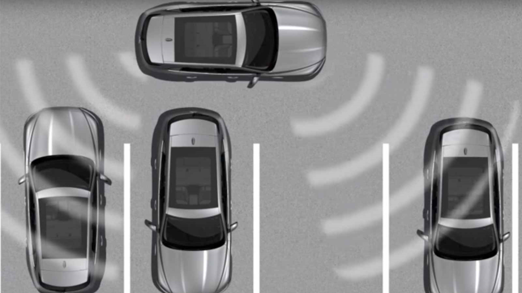 Jaguar F-PACE's InControl Touch: Park Assist information video.