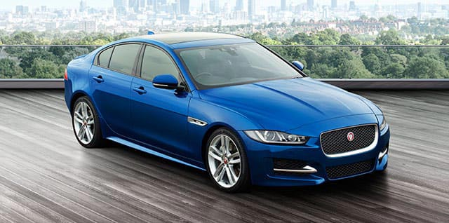 Blue Jaguar XE RSport Model