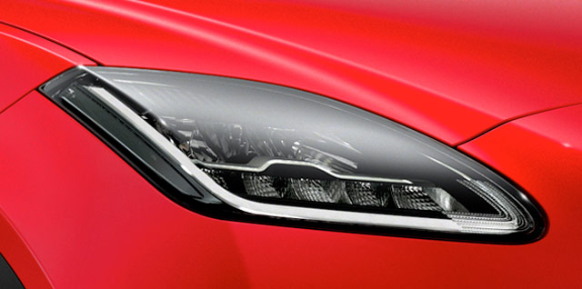Jaguar E-PACE First Edition Headlights