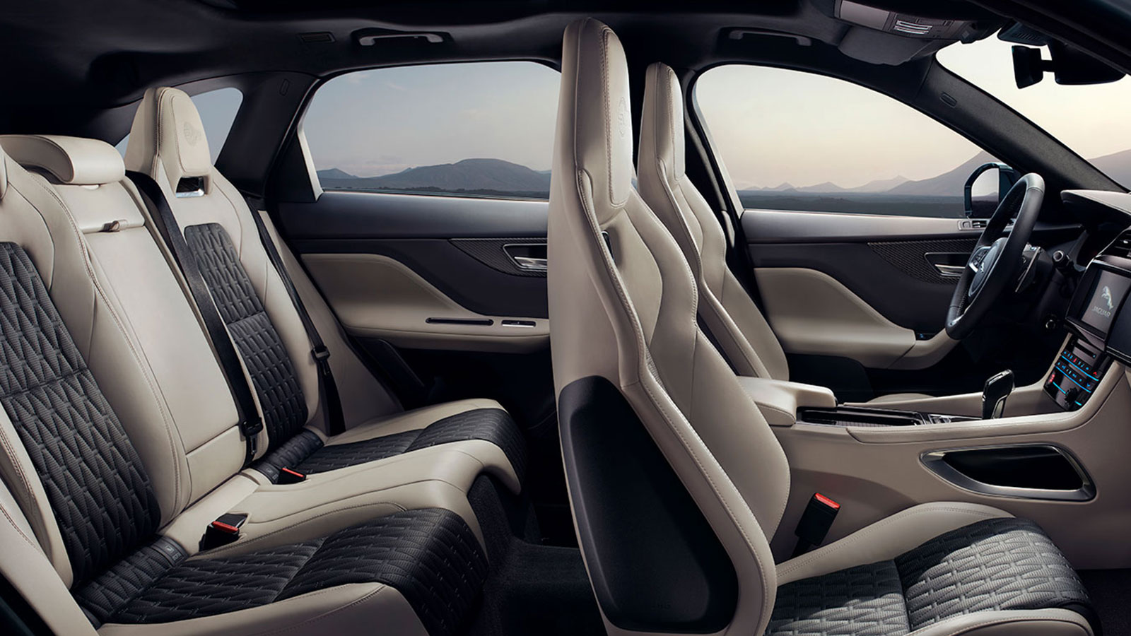 Jaguar F-PACE Interior.