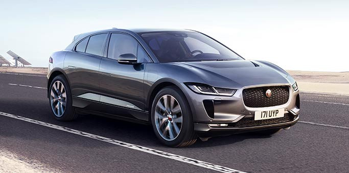 Jaguar I-PACE Electric Vehicle