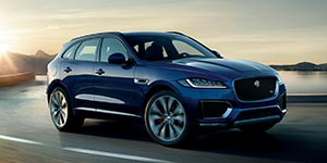 Jaguar F-Pace: The luxury performance suv driving in the city