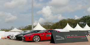 Jaguar - The Art of Performance Tour at Vijayawada