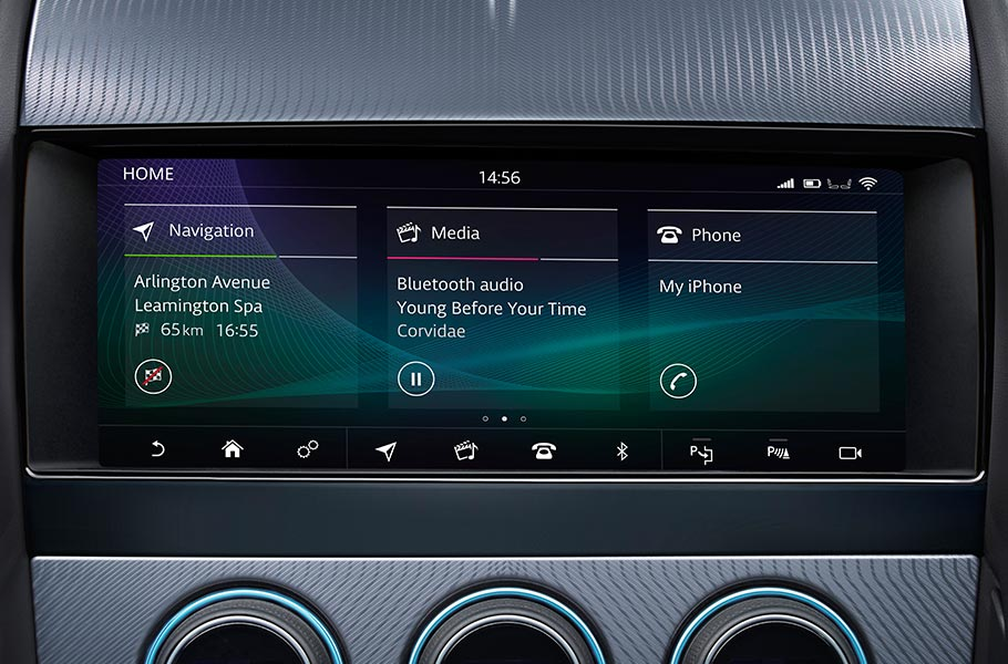 Jaguar InControl Touch Pro Screen F-TYPE