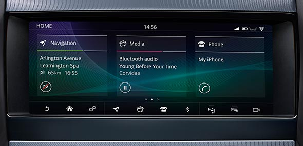 Jaguar InControl Touch Screen F-TYPE
