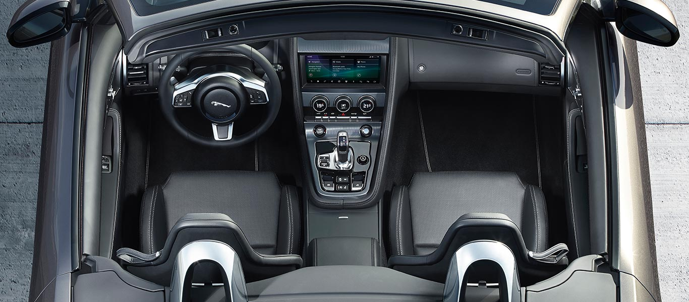 Jaguar F-TYPE Interior Design