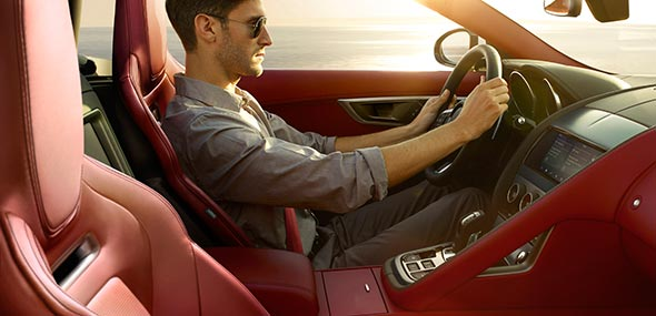 Jaguar F-TYPE Occupant Safety