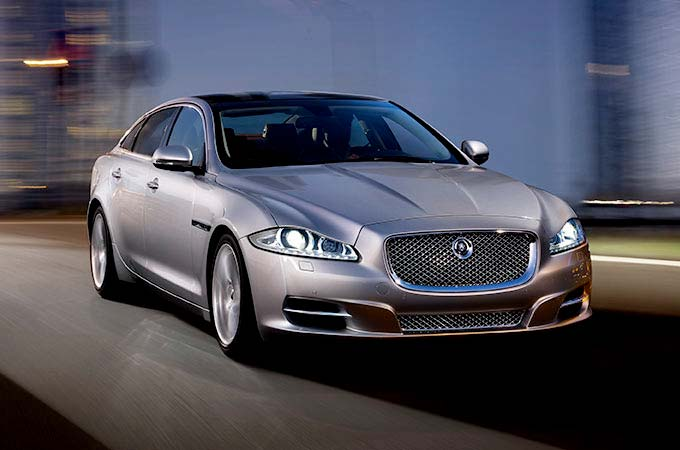 Any XRAY of a jaguar XJ Showing the aluminium frame