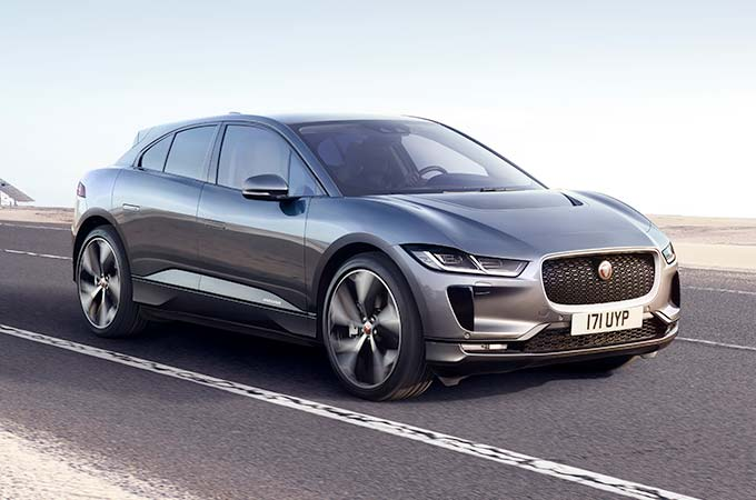 Jaguar I-PACE in Corris Grey