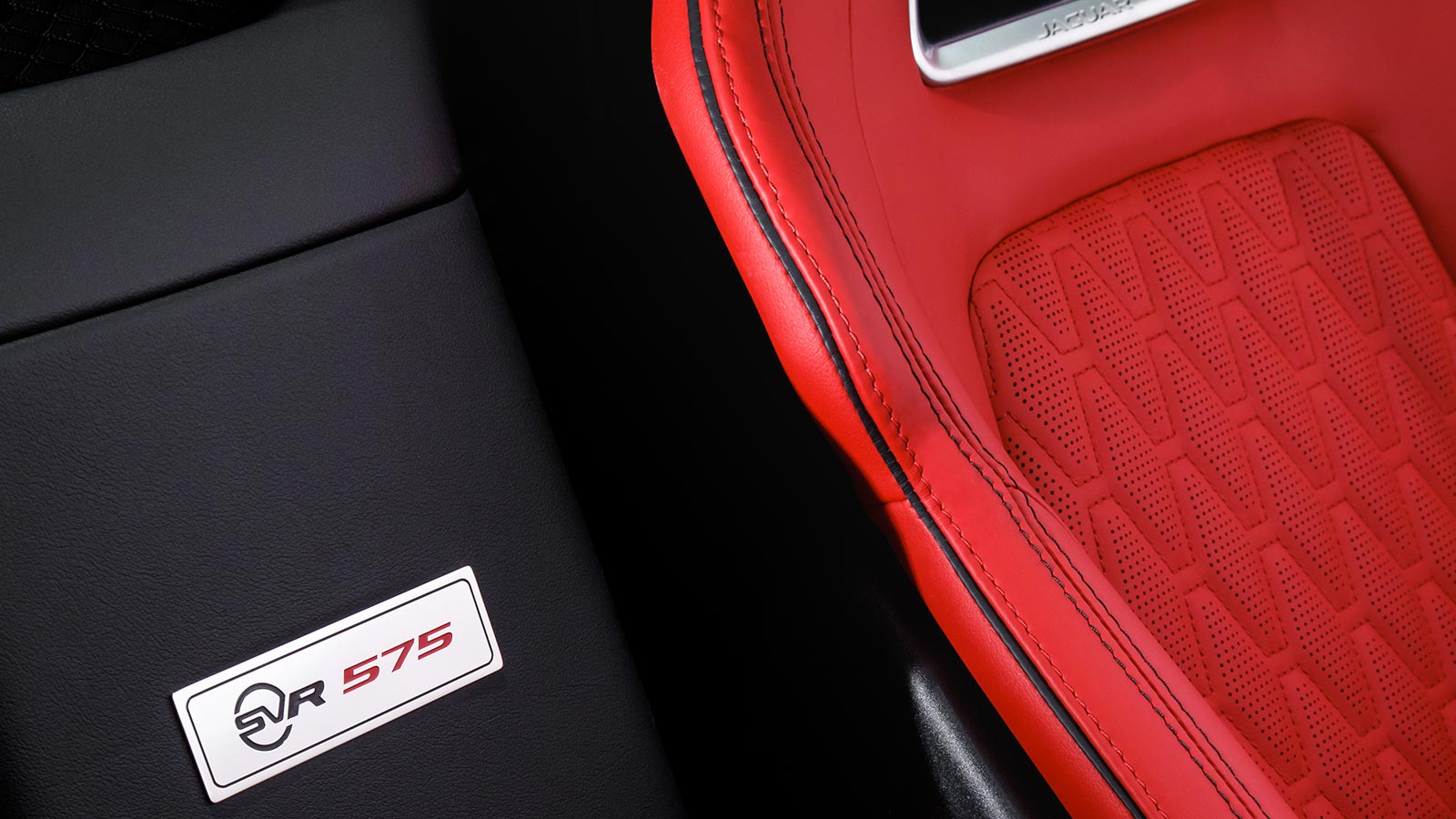Jaguar F-TYPE SVR Interior Design
