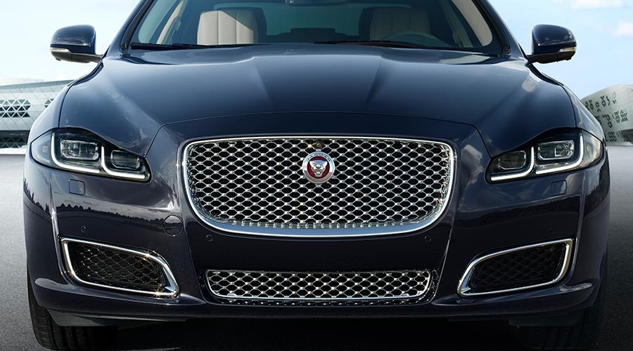 Jaguar Close Up Grille