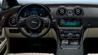 Jaguar XJ in-car infotainment and security system