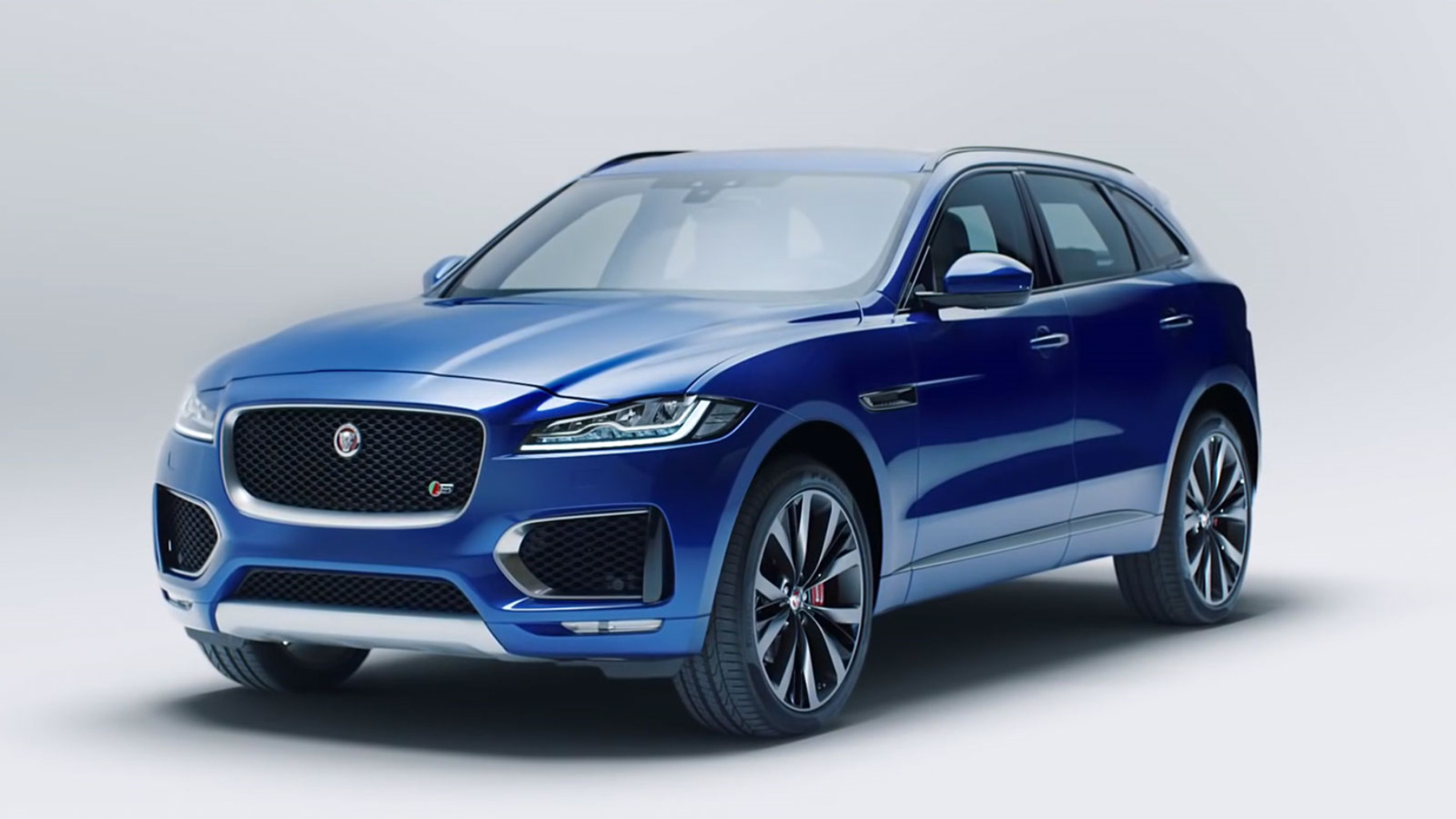 Story Article 1 Blue F-Pace front 3/4.