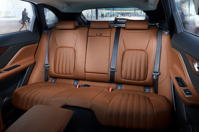 rear leather interior.