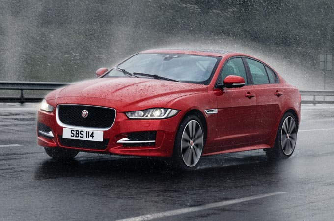 Jaguar AWD with Intelligent Driveline Dynamics.