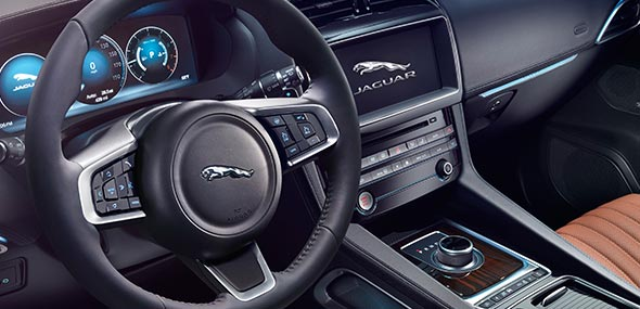 Jaguar F-PACE Driver Side Interior