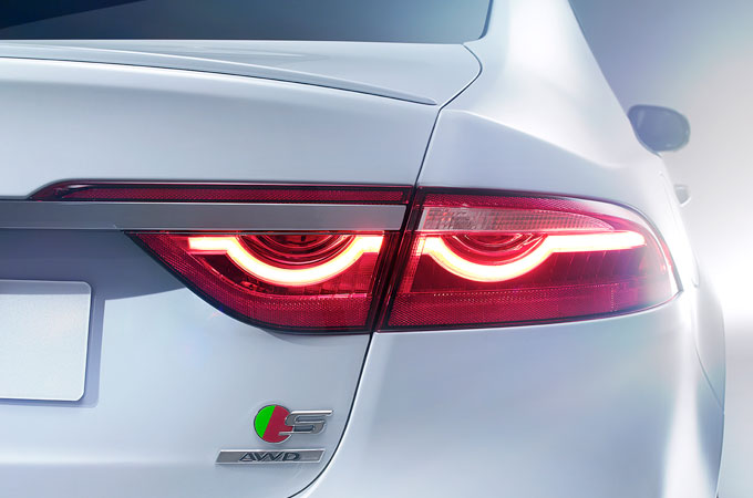 Jaguar XF F-Type Inspired Tail Lights