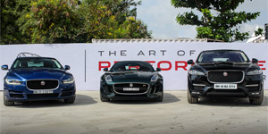 Jaguar - The Art of Performance Tour at Mumbai