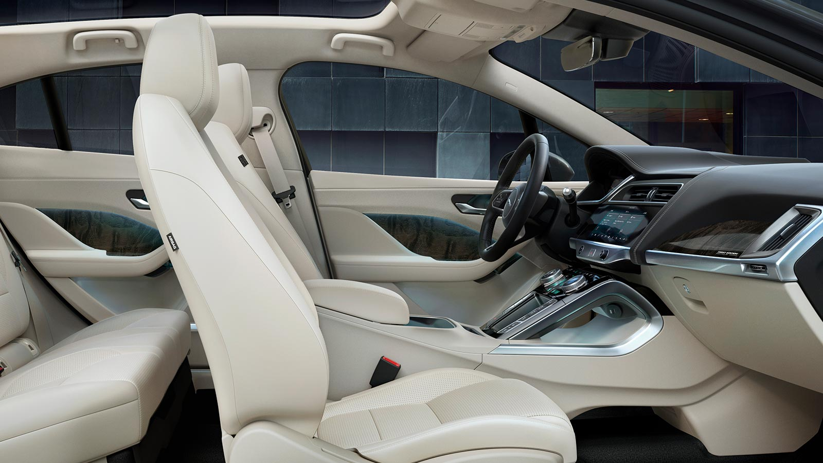 Jaguar I-Pace Interior space.