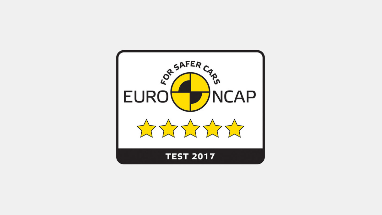 Jaguar E-PACE EURO NCAP 5 star rating.