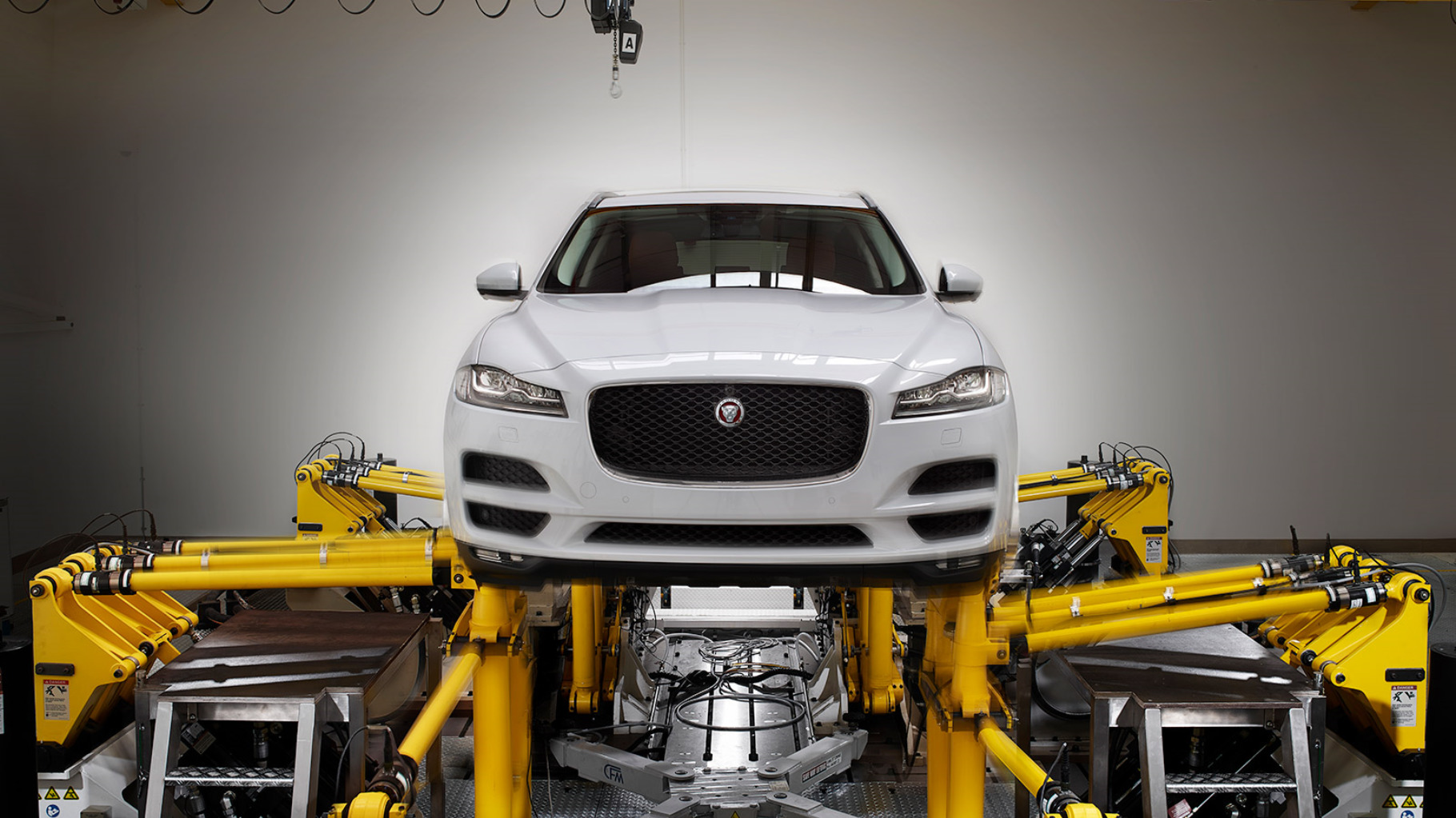 Jaguar F-Pace Safety and Practicality.