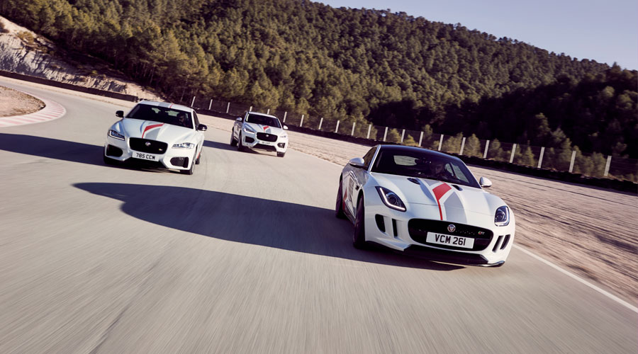 Jaguar Experience Driving Experience.