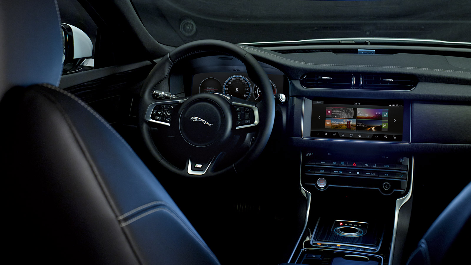 InControl Touch-screen and dashboard