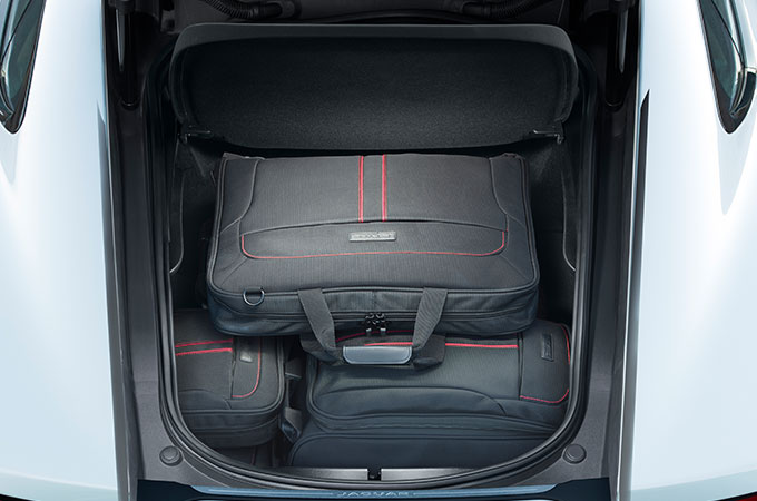 Jaguar F-Type Luggage Space.