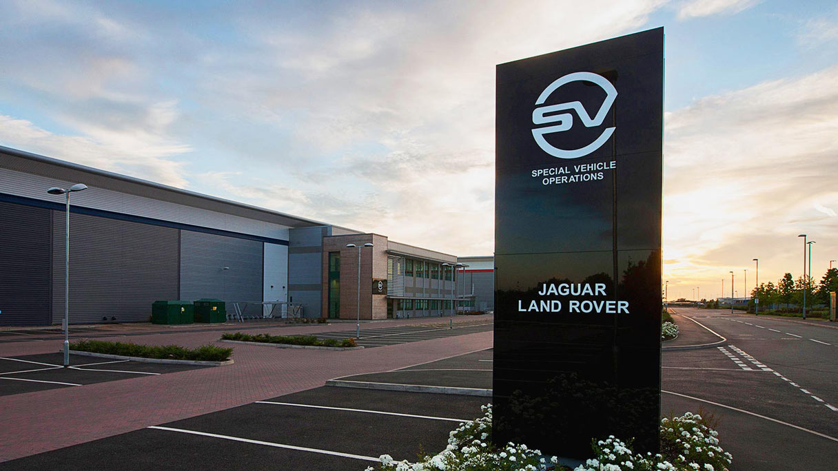Jaguar Special Vehicle Operations Technical Centre.