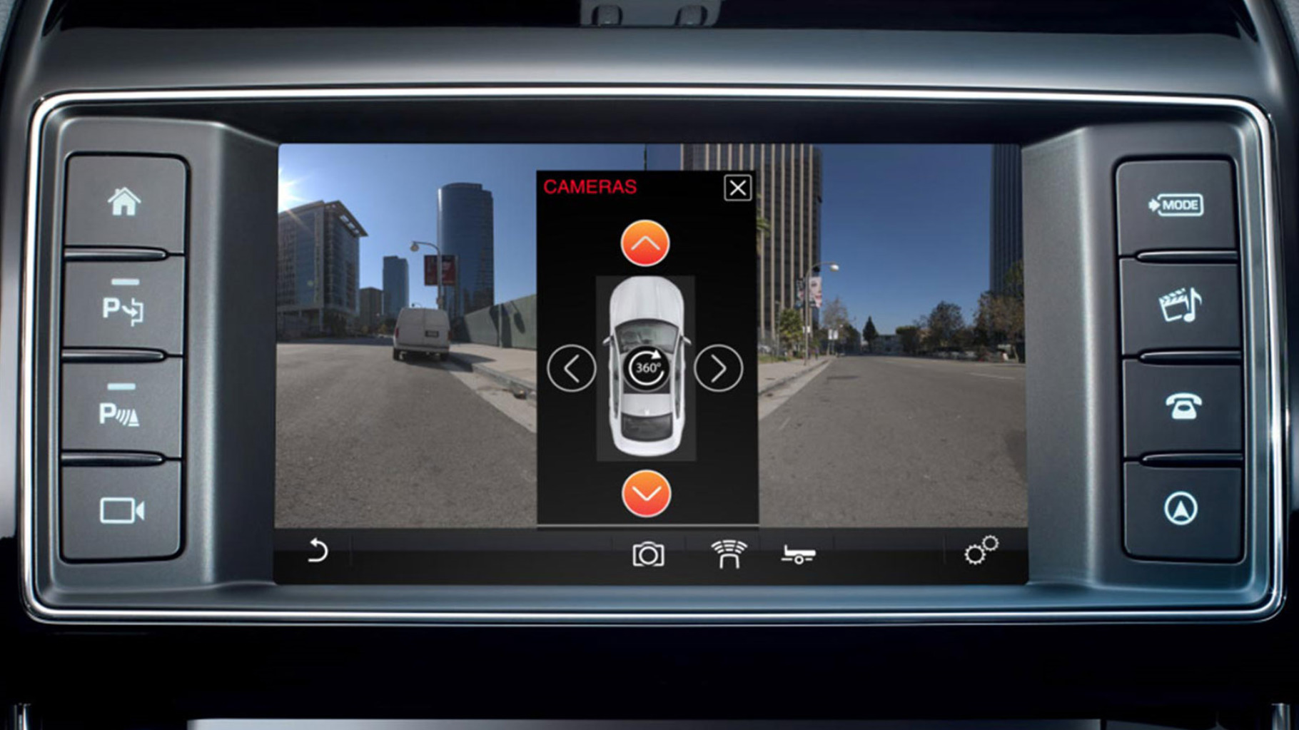 InControl Touch: Single & Surround Camera System