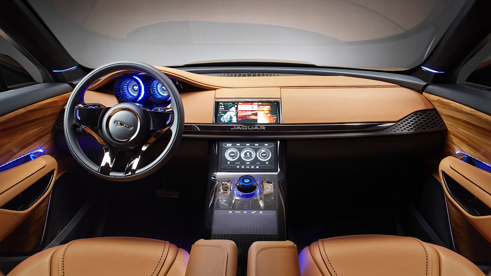 Jaguar CX-17 Interior.