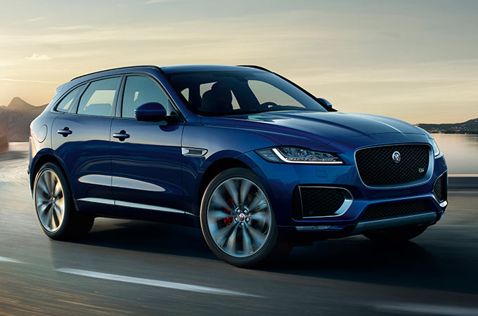 Jaguar F-PACE Performance SUV