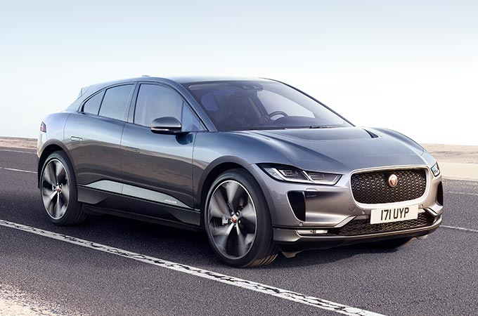 New Jaguar I-PACE All Electric SUV