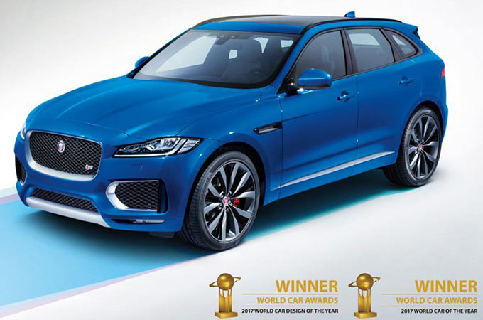 News CC F-PACE Car Year