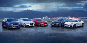 Jaguar Car Range