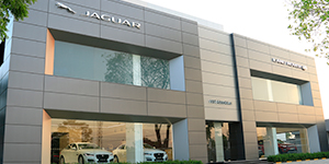 Jaguar VST Grandeur showroom in Chennai