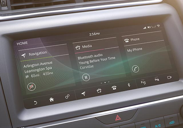 Jaguar E-PACE In Control Tpuch Screen.