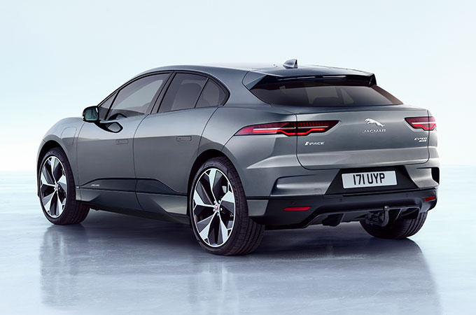 Jaguar I-PACE Detachable Tow-Bar