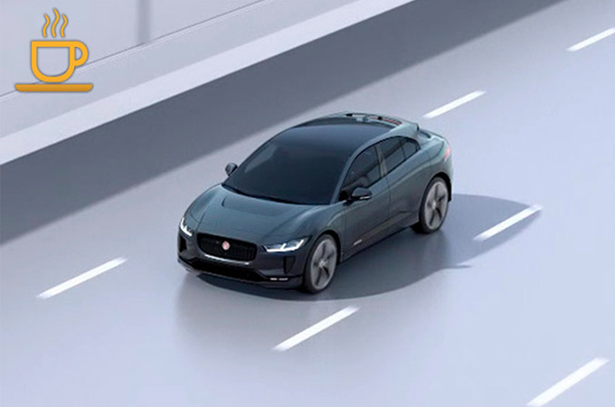 Jaguar I-PACE On Road Driver Condition Monitor