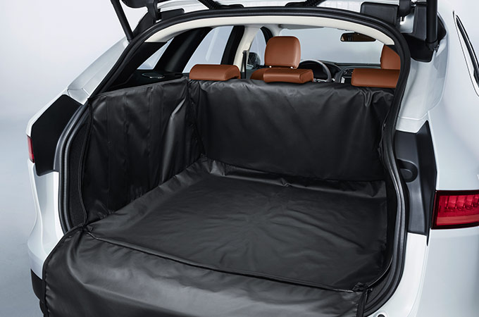 An F-pace loadspace accessory.