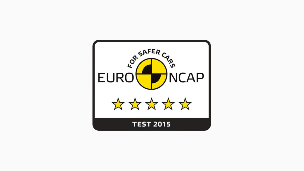 Jaguar XF 5 Star Euro NCAP Rating.