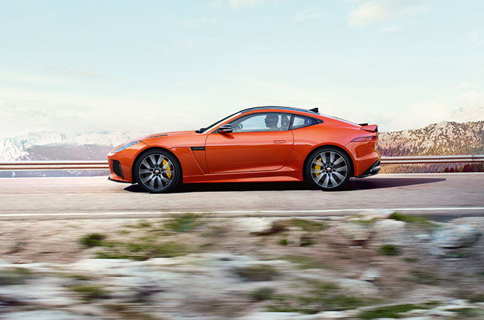 Five reasons to choose F-TYPE Index CC