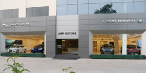 Jaguar AMP Motors showroom in Jaipur