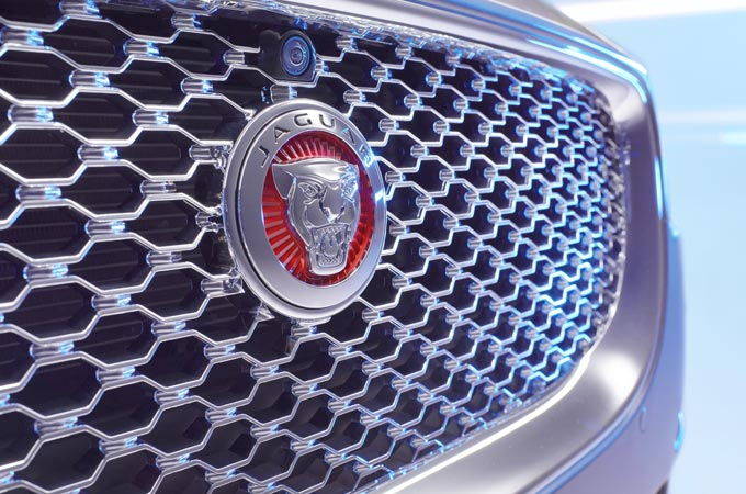 Front Part Jaguar Logo.
