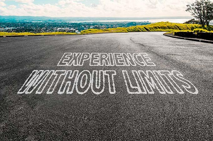 Road- experience without limits.