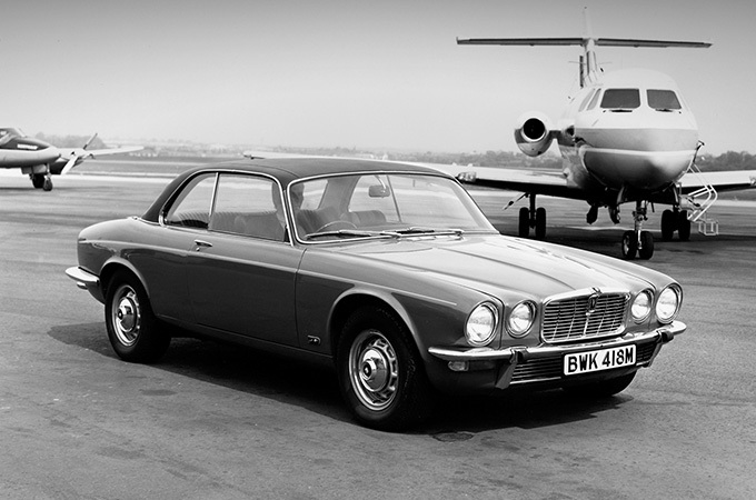 Photo Of A Jaguar XJ12 Series 2 Coupe.