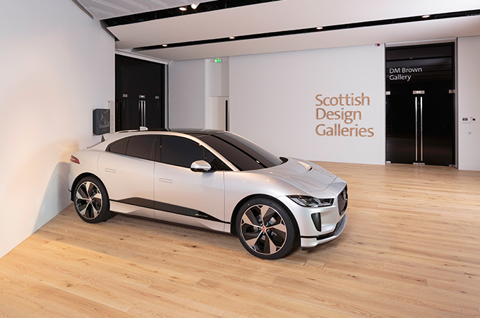 I-PACE CLAY MODEL