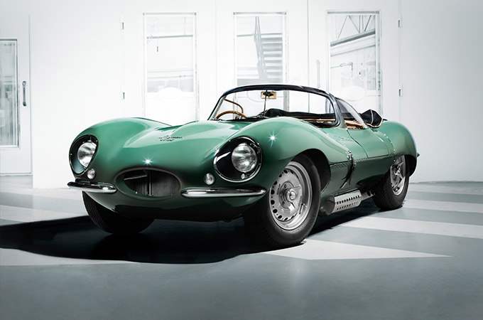 A Green Jaguar XKSS
