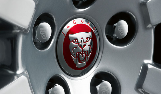 Jaguar Growler badge.