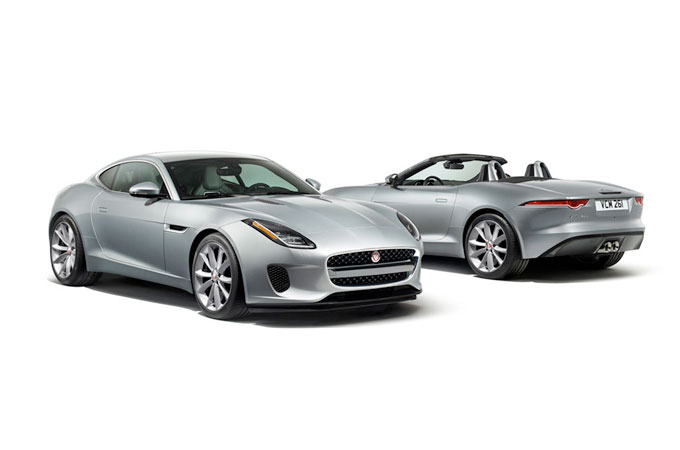 F-TYPE exterior front and rear
